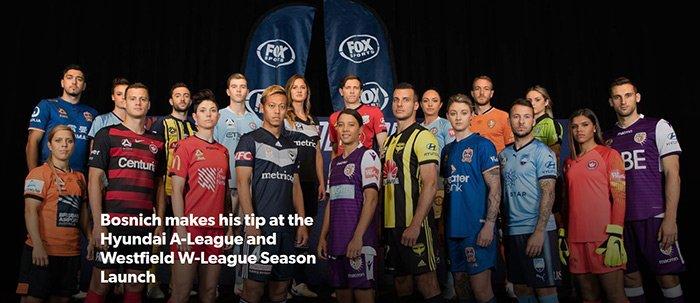 Chính Thức Khai Mạc Giải Vô Địch Quốc Gia Úc A-League Mùa Bóng 2018-2019.